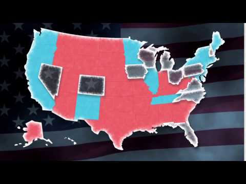 US Presidential Election Map...