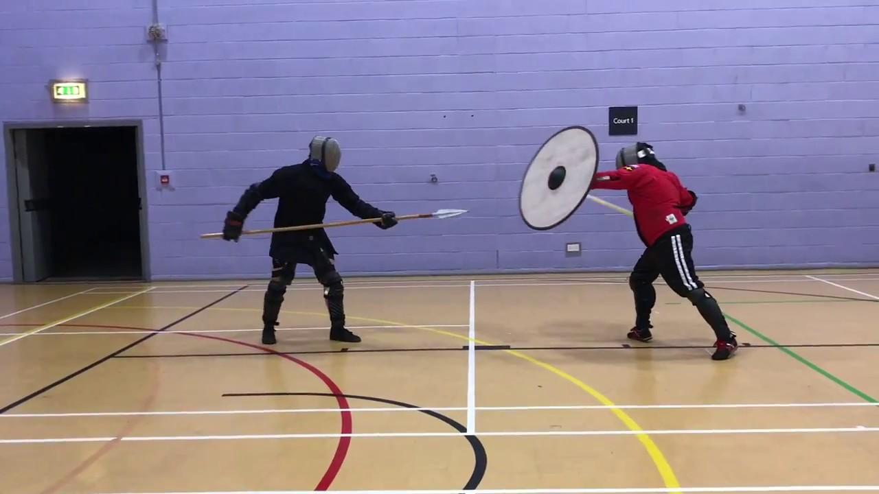 Spear vs Sword & Shield - Mitch vs Nick