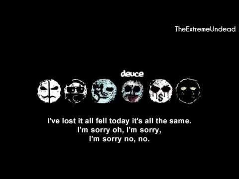 Hollywood Undead - My Black Dahlia [Lyrics Video] [OLD VERSION]