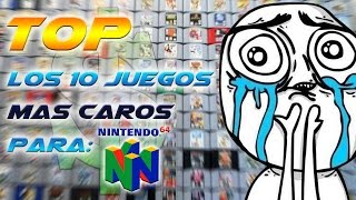 Top - Los 10 Juegos mas Caros para Nintendo 64