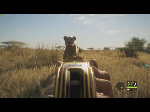 Lion Hunting Gone Wrong! (The Hunter: Call of the Wild Twitch Stream)