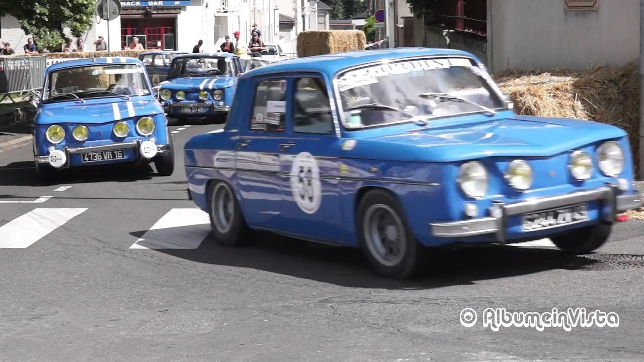 grand prix historique bressuire 2016 renault 8 gordini s rie 1 nouvelle version youtube. Black Bedroom Furniture Sets. Home Design Ideas