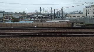 吹田総合車両所に留置される415系C06編成+C09編成と105系