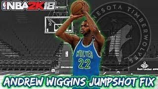 Andrew Wiggins Jumpshot Fix - NBA 2K18