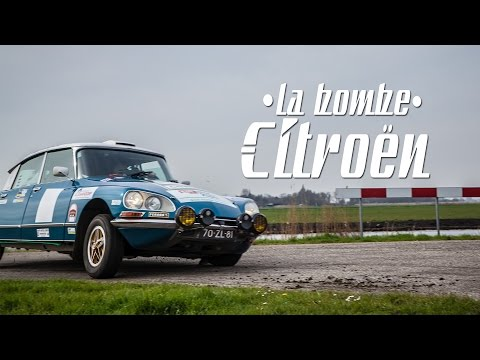 La Bombe Citroën - Citroen DS Rally - ENG SUBS