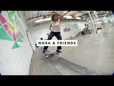TWS Park: Nora Vasconcellos and Friends | TransWorld SKATEboarding