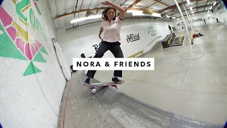 TWS Park: Nora Vasconcellos and Friends | TransWorld SKATEboarding