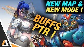 Pluie de buffs sur le PTR, Deathmatch & Nouvelle map ! ► Overwatch