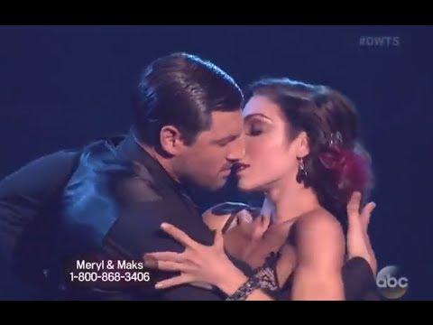 "THE BEST DWTS 18 WEEK 6 ""Feel So Close"" by Calvin Harris : Meryl Davis and Maks - Tango (HD)"