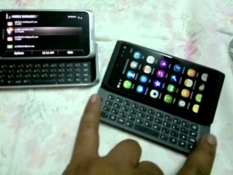 Nokia N950 vs Nokia E7
