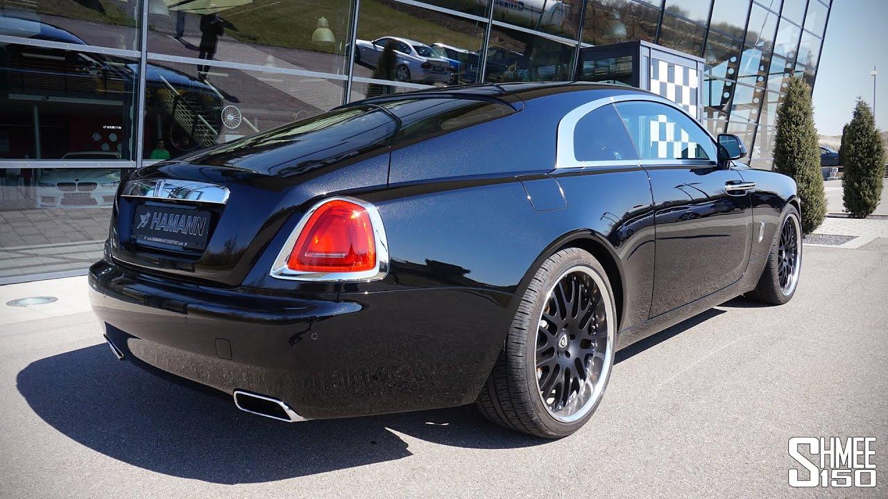 Hamann Wraith A Rolls Royce That Revs Youtube