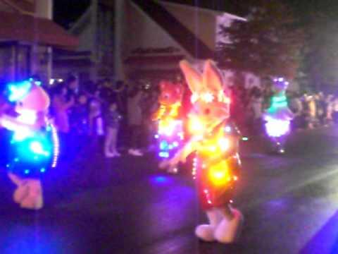 Christmas Season Night Parade @ Everland Resort, South Korea