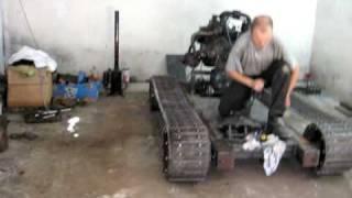 Czołg na bazie fiata 126p (malacz,kaszlak)