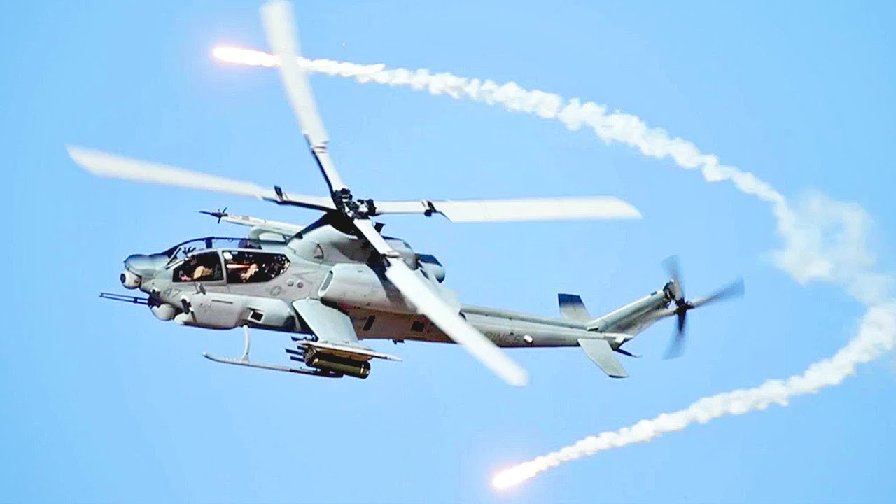 Close Air Support With Marine Corps' AH-1Z Attack ...