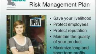 Protecting Your Business:  Risk Management Planning