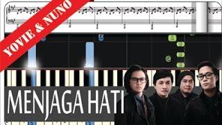 Yovie & Nuno - Menjaga Hati - Tutorial Piano