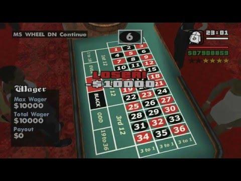 GTA San Andreas Gambling Skill