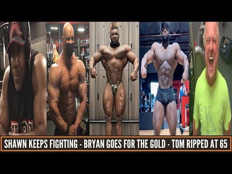 Bryan Jones looks freaky - Huge bulk for Shawn Rhoden - 300 lbg Quinton brining his A game & updates