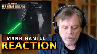 Mark Hamill reaction Luke Skywalker REDUB Returning Mandalorian Finale Star Wars