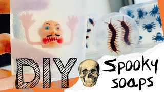 How to make DIY Spooky Creepy Soaps for Halloween | Creative | Stop Motion Movie