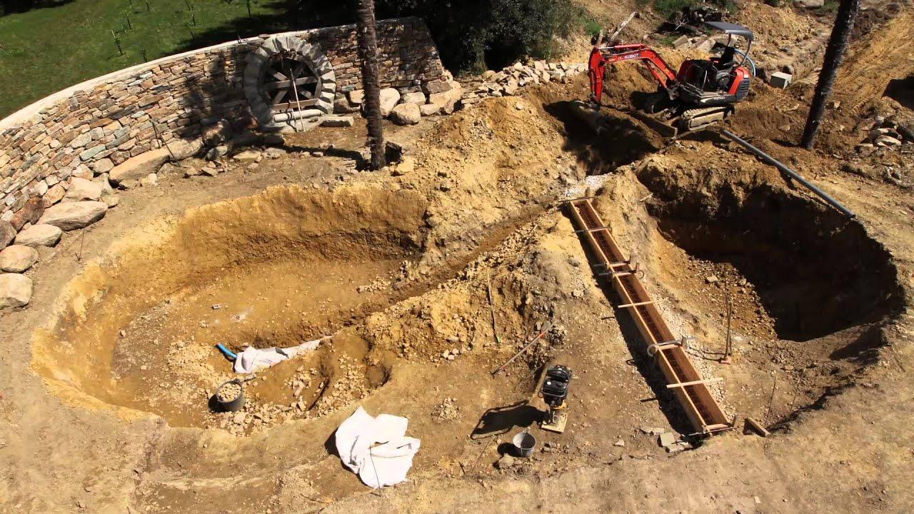 Bassin De Baignade Autoconstruction film construction baignade naturelle paysages vivants vortico