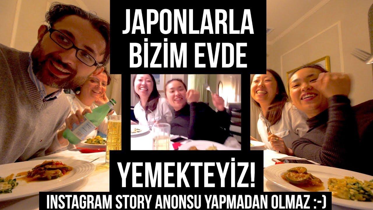 Japonlarla Bizim Evde Yemekteyiz!