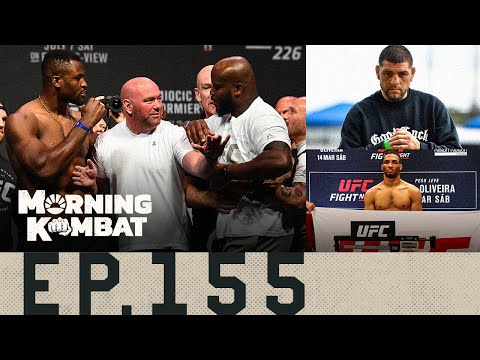 Morning Kombat | Jon Jones vs. Stipe Miocic? + Other HW matchups | Dana White & Nick Diaz | The future of Cowboy Cerrone and more