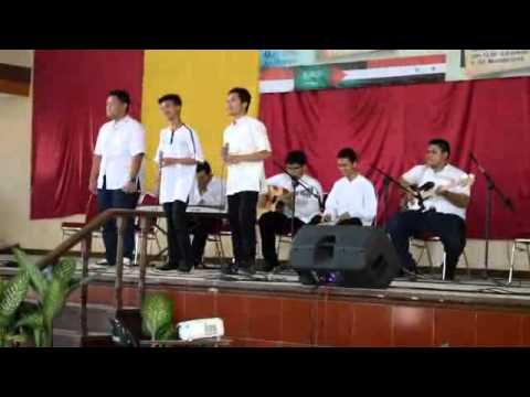 Cover Sekeping Hati Medley With T4 by New Hanif (Live) at Unsil Islamic Festival