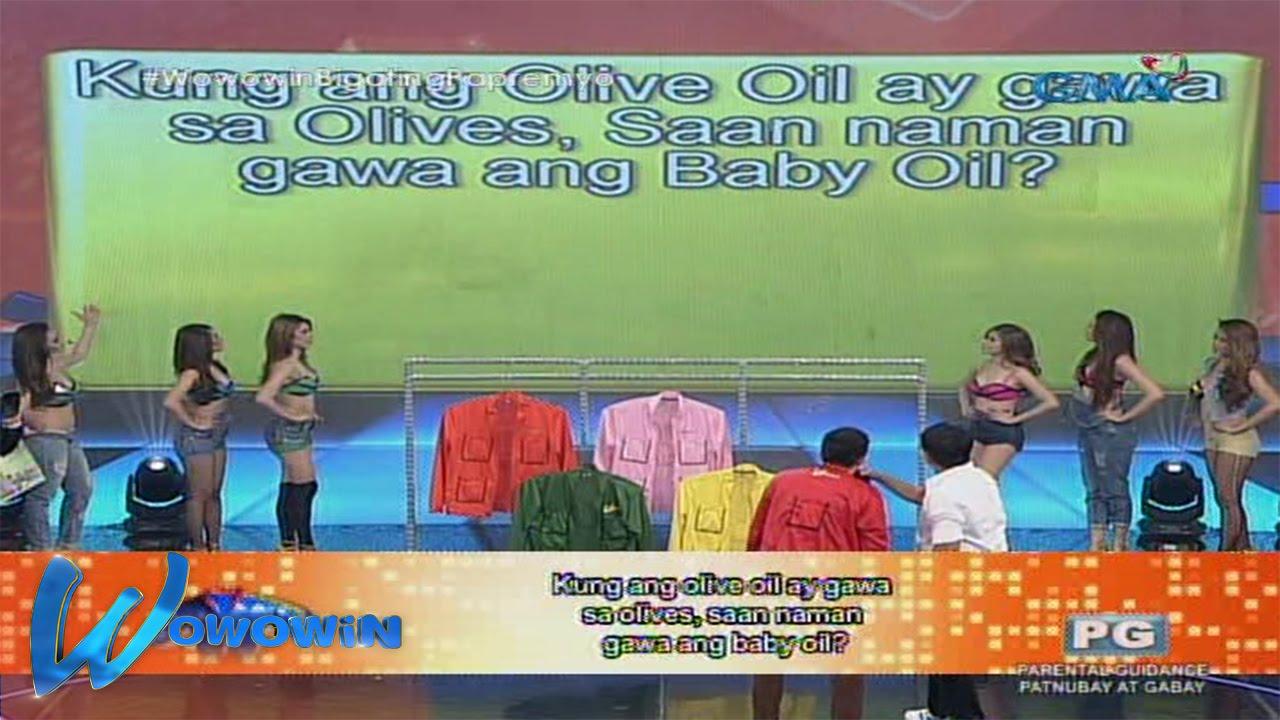 Wowowin: Saan nga ba gawa ang baby oil?