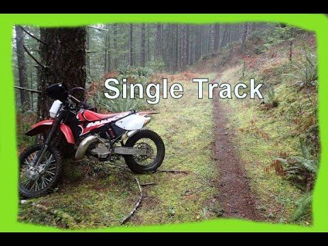 Dirtbike Riding: S1 E20 Maico 700 Single Track Ride