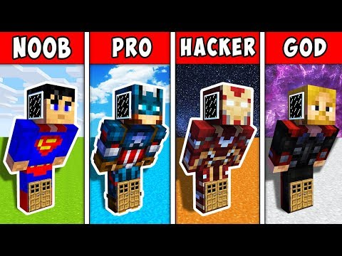 minecraft-noob-vs-pro-vs-hacker-vs-god:-super-block-house-inside-heroes