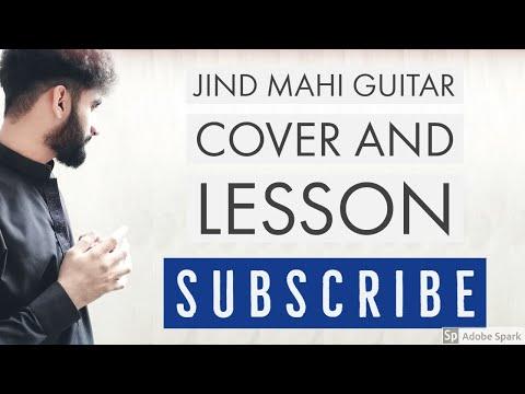 Jind Mahi | Diljit Dosanjh | Guitar Chords Lesson | Guitar Cover