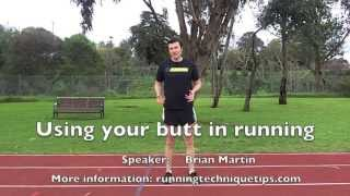 How to use your glutes during running