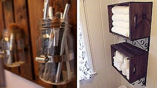 9 Rustic Home Projects That Will Help You Stay Organized