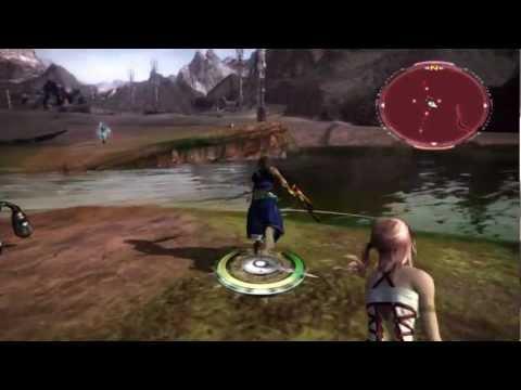 Final Fantasy XIII-2: Potent Crystal Farming---Microchu