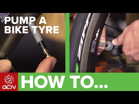 How To Inflate A Bicycle Tyre
