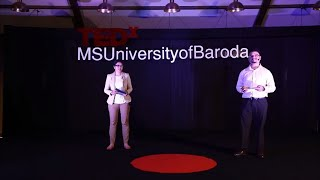 changing lives with CPR  | Isha & Shukanto | TEDxMSUniversityofBaroda