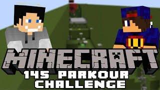 OCZOWALNIE  Minecraft Parkour: 145 Parkour Challenge [2/x] w/ GamerSpace