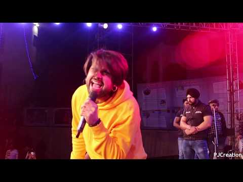 Ninja || Live event || Hardy Ludhiana || Apex Securities || PIET Panipat  || 2018