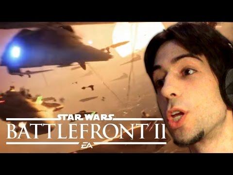 STAR WARS BATTLEFRONT 2: TRAILER COMPLETO !! - REACCIÓN y PRIMERAS IMPRESIONES