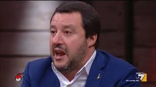 Matteo Salvini (Lega): 'Ho rinunciato a tutto, posso anche prendere una scopa e pulire lo studio'