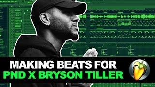 MAKING A SUPER SMOOTH BEAT FROM SCRATCH FOR PARTYNEXTDOOR & BRYSON TILLER | FL Studio Tutorial 2018