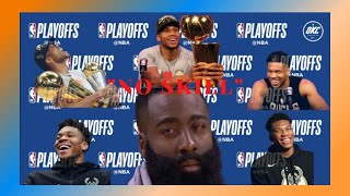 Giannis gets the last laugh in the James Harden beef #NoSkill #NBAFinals