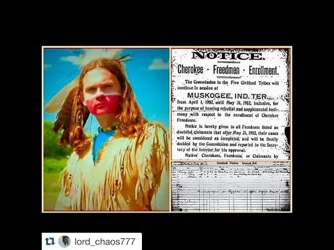 The Dawes Roll Part 1 5 Indians Aboriginal Truths