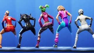 FORTNITE FINALLY GOT THE THICC TWERKING EMOTE (ULTRA HOT) 😍❤️