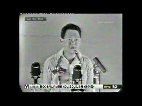 LKY : July 1963 Rally at Hong Lim Green