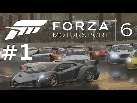 FORZA 6 - LAMBORGHINI VENENO REGEN | Lets Play FORZA Motorsport 6 Gameplay German Deutsch Part 1