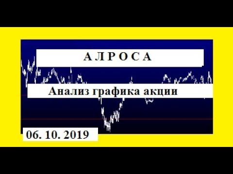 АЛРОСА / Анализ графика акции / Трейдинг Аналитика