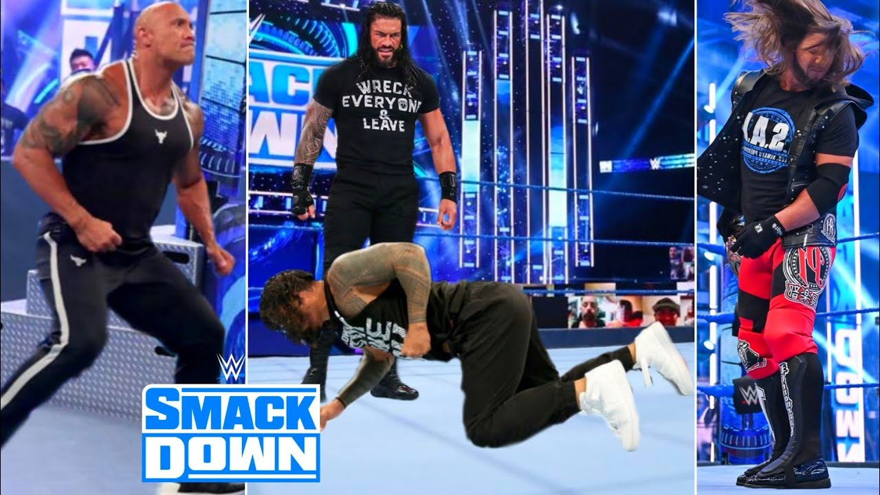 WWE Friday Night Smackdown 18 September 2020 Highlights ! WWE SmackDown 9/18/20 Highlights Preview !