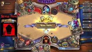 Hearthstone RR: WILD - Fatigue Mage vs Pirate Warrior (Season 57 Day 6)